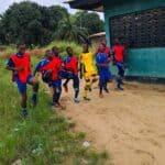 Football-Team-Training